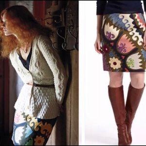 Anthropologie Vanessa Virginia Tulipa Skirt Sz 6